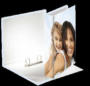 impression photo imprim e sur classeur a4 personnalis photo online. Black Bedroom Furniture Sets. Home Design Ideas
